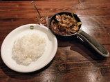 秋ナスと豚肉の旨味噌炒めカレー 890円