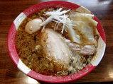 本日の中華そば 900円 + 地鶏の味付玉子 150円