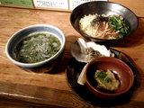 牡蠣の潮つけ麺 〜魚介バター添え〜 980円