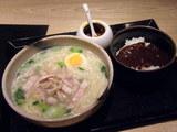 特製 鶏麺(そば)&ミニカレー丼セット 1000円