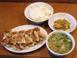 豆餃子定食 780円