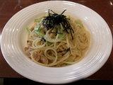 ジャポネ(しょう油味)(豚肉、マッシュルーム、小松菜、玉ねぎ) 580円