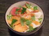 海鮮ピリ辛丼 880円