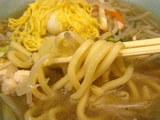 長崎チャンポン 麺のアップ