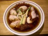 比内地鶏の醤油ラーメン 750円 + チャーシュー 500円 + 味玉 200円