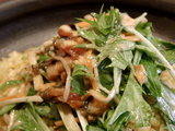 焙りうなぎとハリハリ水菜のサラチャー アップ画像