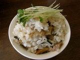 塩ミョウガ飯 250円