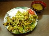 ホイコーロー定食 630円