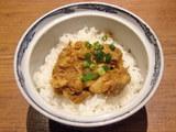チャーシュー印度丼 210円