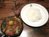 1日分の野菜カレー 990円