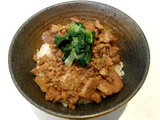 青菜肉めし 250円