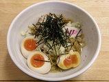 油めん(太麺) 720円 + 味玉 100円