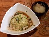 海老と小柱のうま味スープ高菜チャーハン 790円