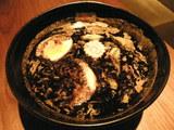 焦がし味噌麺 900円