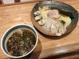 しびれ豚骨麻つけ麺 細麺 980円