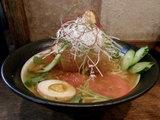 鰹氷麺 サイドビュー