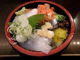 秋の三色丼 580円