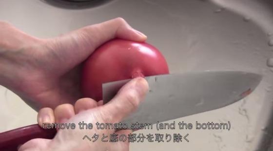 トマト_丸ごと_ごはん_オチケロン_美味しい_感動_動画