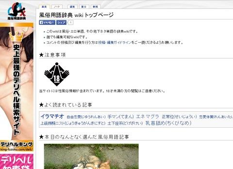 風俗用語辞典wiki