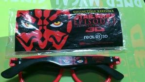 ダース・モール仕様3Dメガネ