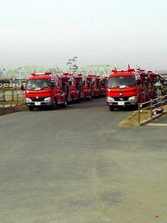 2012年1月川口市震災消防総合演習3