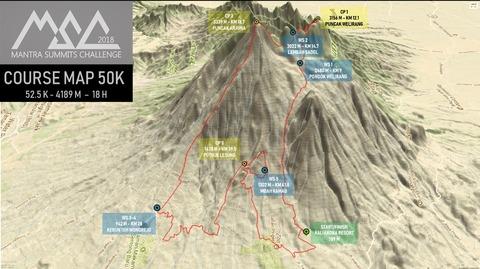 course map 50K msc2018