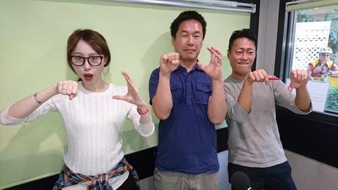 クロスFM北九州スタジオ