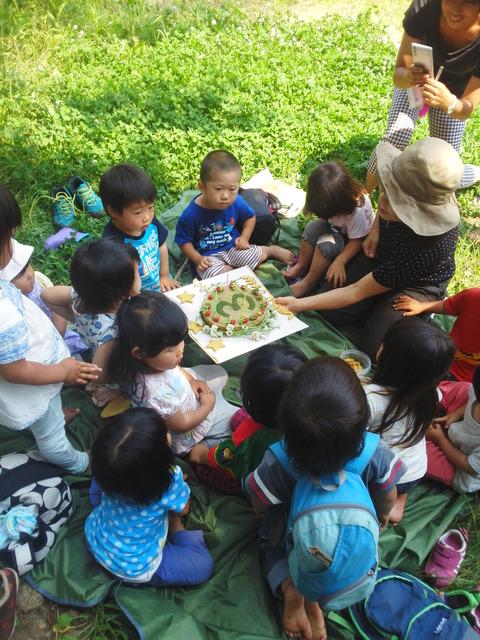 森の誕生会2