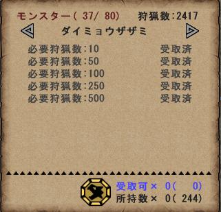 攻猟メダル