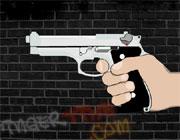 拳銃反射神経ゲーム「Bullet Time」