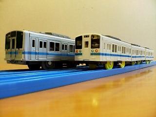 小田急2000系と9000系