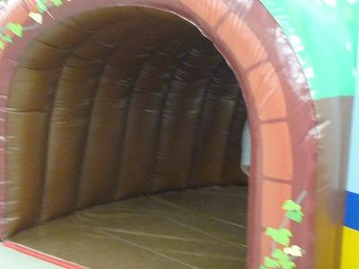 プラレール博のトンネル