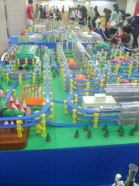 プラレール博2007巨大ジオラマゾーン
