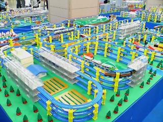 プラレール博2007巨大ジオラマゾーン 4