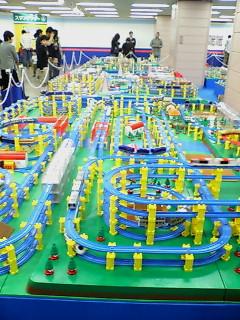 プラレール博2007巨大ジオラマゾーン 6