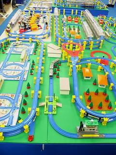 プラレール博2007巨大ジオラマゾーン 2