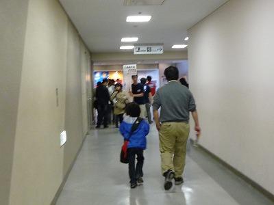 プラレール博廊下