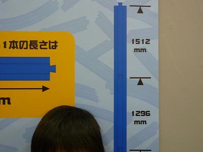 プラレール博『キミの身長はレール何本分あるかな?』