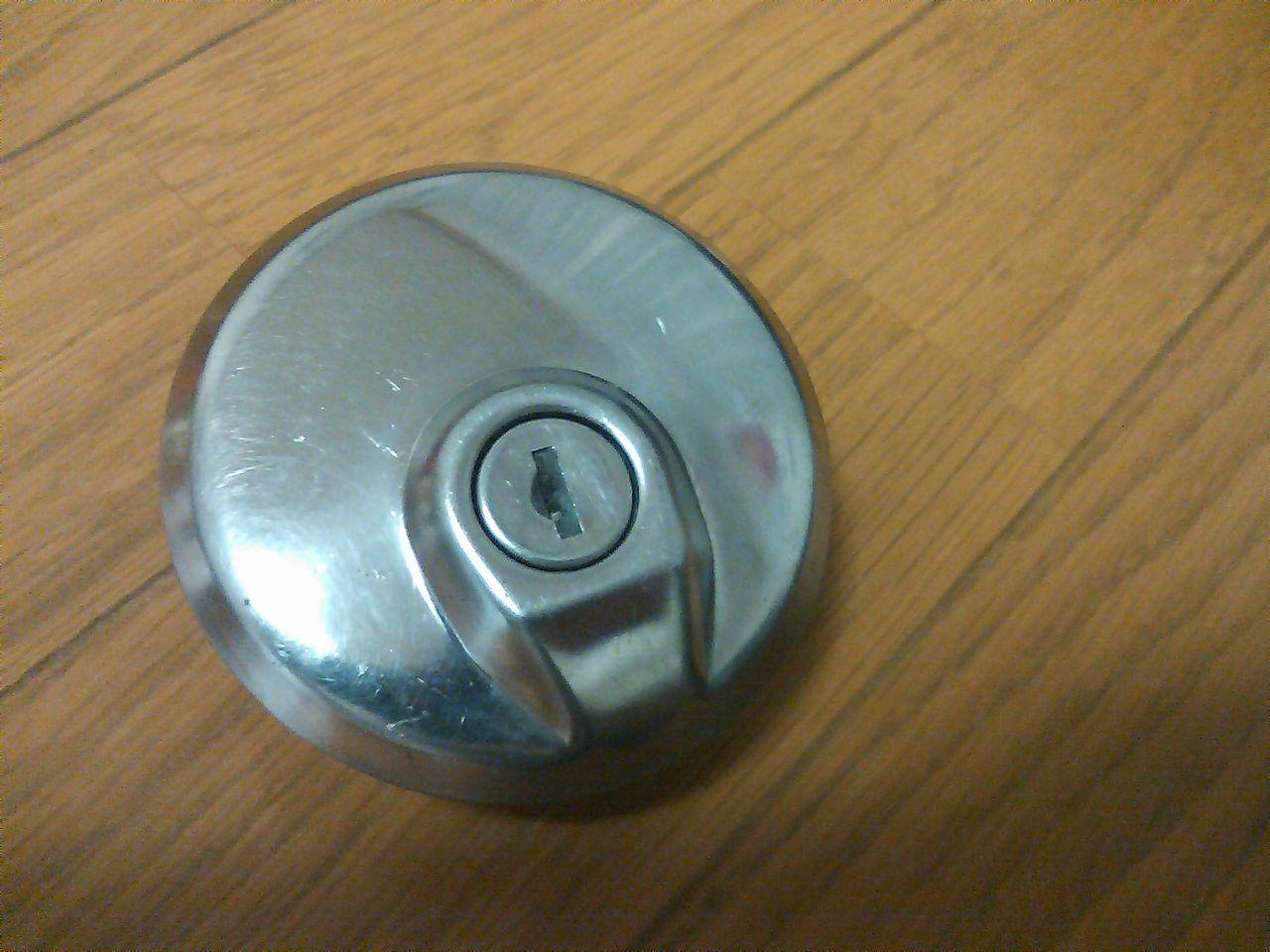 タンクキャップをドリルで開錠 : セイ生活