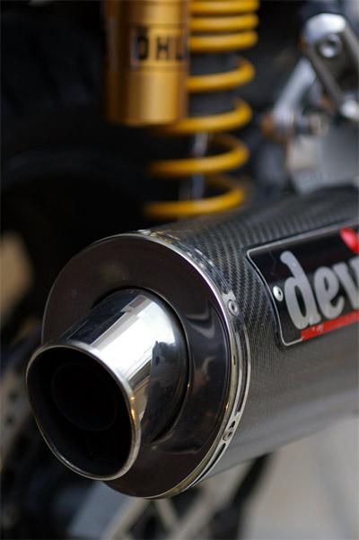 XJ1300のテールパイプ