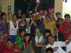 ペルーのダンス教室「D1」