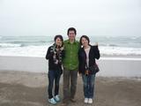PUNT BLANCOの浜辺にて