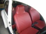 red seat cover & spring repair 035