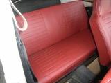 red seat cover & spring repair 033