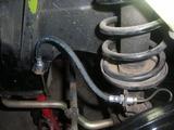 brake hose bracket relocate 009