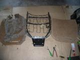 red seat cover & spring repair 020