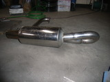stainless hide out bullet exhuast 020