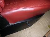 red seat cover & spring repair 025