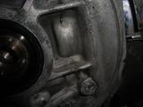engine oil line plug 018