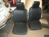 red seat cover & spring repair 001